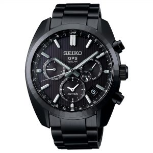 Seiko Limited Edition Astron GPS Solar Black PVD Stainless Steel Men's WatchThis Seiko Limited Edition Astron GPS Solar Black PVD Stainless Steel Men's Watch is for active people looking for durability and precision with a dash of style. Limited to just 1,500 pieces, this watch celebrates the 50th anniversary of Seiko's 1969 masterpiece, the Seiko Astron cal. To add a personal touch just to you, the serial number can be found engraved on the case back, making your watch purely unique.The GPS antenna is capable of reaching more than four satellites at one time no matter what position the watch is facing. A solar powered movement powers this watch which can then active the GPS function when exposed to bright light. Around the edge of the dial is a world time display for all the major cities around the world. Astonishingly, the watch will automatically update when travelling at the touch of a button. Additionally, an in-flight mode turns off all GPS functionality to make it a safe and comfortable journey. Furthermore, a dual time display means that you can keep in touch with your home being displaying the relevant timezone.A black patterned dial brings the eye right to the centre of the dial. The ever present Seiko logo can be found at the 12 o'clock position to provide the authenticity it deserves. A sub-dial at the 3 o'clock position displays the day of the week with a small date window found just below. Then, a black PVD stainless steel case surrounds the advanced and stylish dial with sapphire crystal glass sat on-top. Finally, a black PVD stainless steel bracelet is fastened using a three fold clasp.Also, this watch has a water resistance of 100 metres, making it suitable for swimming and snorkelling.Key Features:Limited Edition 1,500 PiecesAstron Family5X53 CalibreGPS Solar+- 15 Seconds Per Month6 Month DurationBlack PVD Stainless SteelDual Curved SapphireLumiBriteThree Fold Clasp100m Water ResistantMagnetic Reluctance'LIMITED EDITION' On Case BackSerial Number O