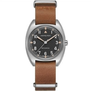 Hamilton Khaki Pilot Pioneer Mechanical W-10 Remake Men's Watch