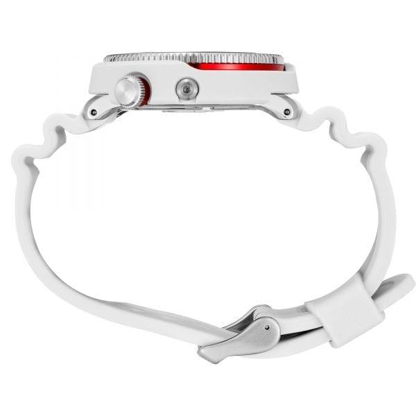 Seiko Prospex Street Series 'Tuna' Solar Black Dial White Silicone Strap Men's Watch SNE545P1