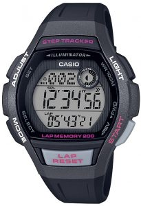 Casio Collection Classic Quartz Digital Black Resin Retro Retro Vintage WatchIn conjunction with the Casio Collection, this Sports Black Resin Ladies Watch LWS-2000H-1AVEF boasts a range of fantastic features. Notably, it has a a full digital display with a dual display, a lap memory of 200, as well as a five daily alarms, so that you never wake up late again. These features make this a great watch for those who enjoy exercising or equally those who just want to wear it to look even cooler. Other notable features include an illuminator, step tracker and a 12/24 hour display option. Astoundingly, it also has the ability to set up a separate timezone to the one that you may be in, which is ideal if you are going to make overseas calls.Key Features:Classic CollectionSports StyleBlack ResinIlluminatorDigital DisplayLap Memory 200Step Tracker100m Water ResistantStopwatch5 Daily AlarmsAuto Calendar12/24 Hour TimingMineral Crystal GlassQuartz MovementBuckle ClosureThe Brand: CasioCasio was established in 1946 by Japanese engineer Tadao Kashio. The company entered the timepiece market in 1974 with the release of the Casiotron, the world's first Auto Calendar watch. Only eleven years after entering this field, Casio completely reshaped global thought about the function a watch should perform with the release of the pioneering and now legendary G-Shock family. Innovation and world firsts have defined the company's history ever since, the most striking of these being the release of the first ever touch screen watch in 1991, 24 years before the Apple Watch, and the first ever wrist camera watch in 2000. In short, Casio was producing smartwatches decades before the term had even been coined. Add to this the hipster popularity of the company's retro designs, and Casio has firmly cemented its reputation as a famously reliable and precise name in both analogue and digital watches.If you have any questions please click hereClick here to join our facebookand Instagram!