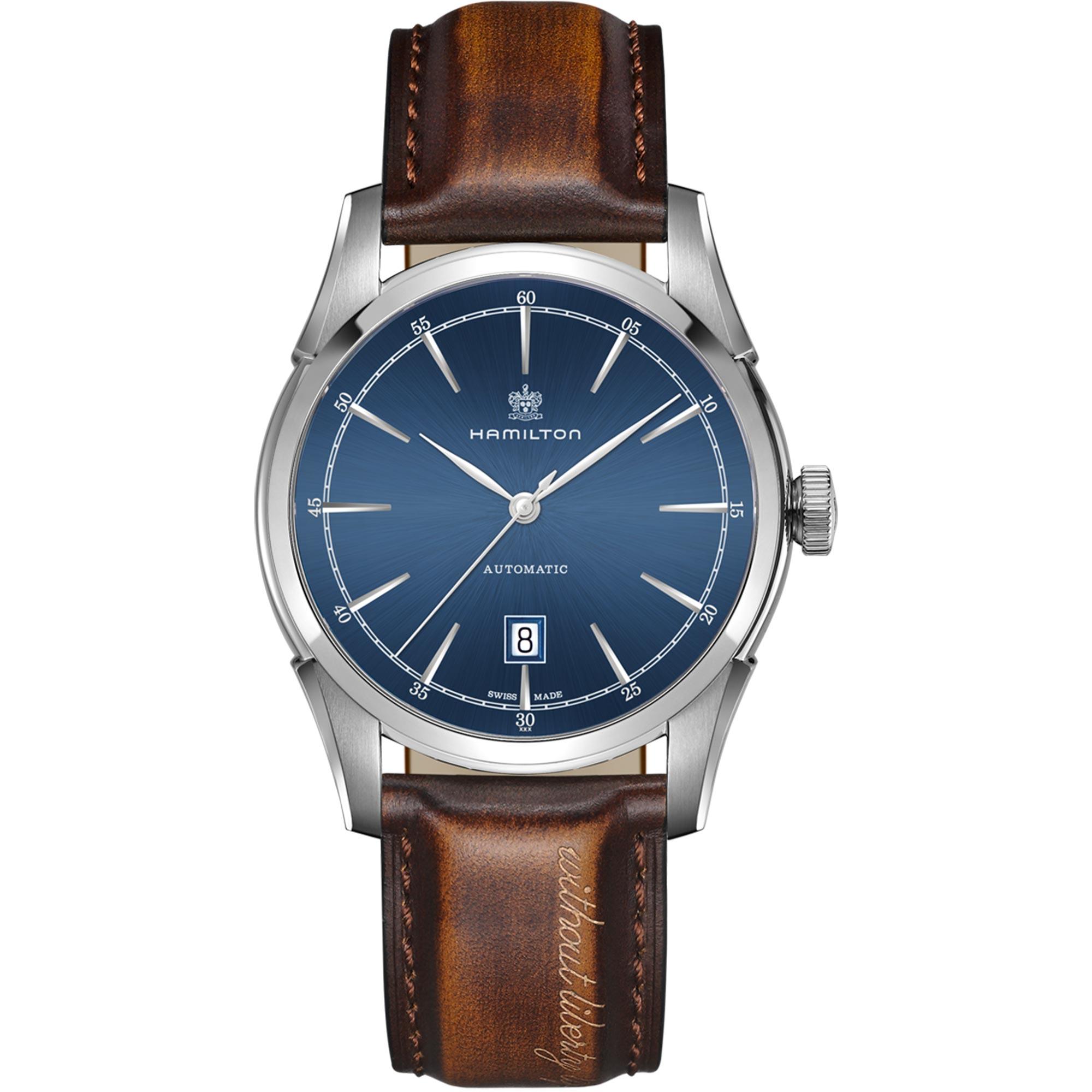 Hamilton American Classic Spirit of Liberty Automatic Mens Watch H42415541 42mm