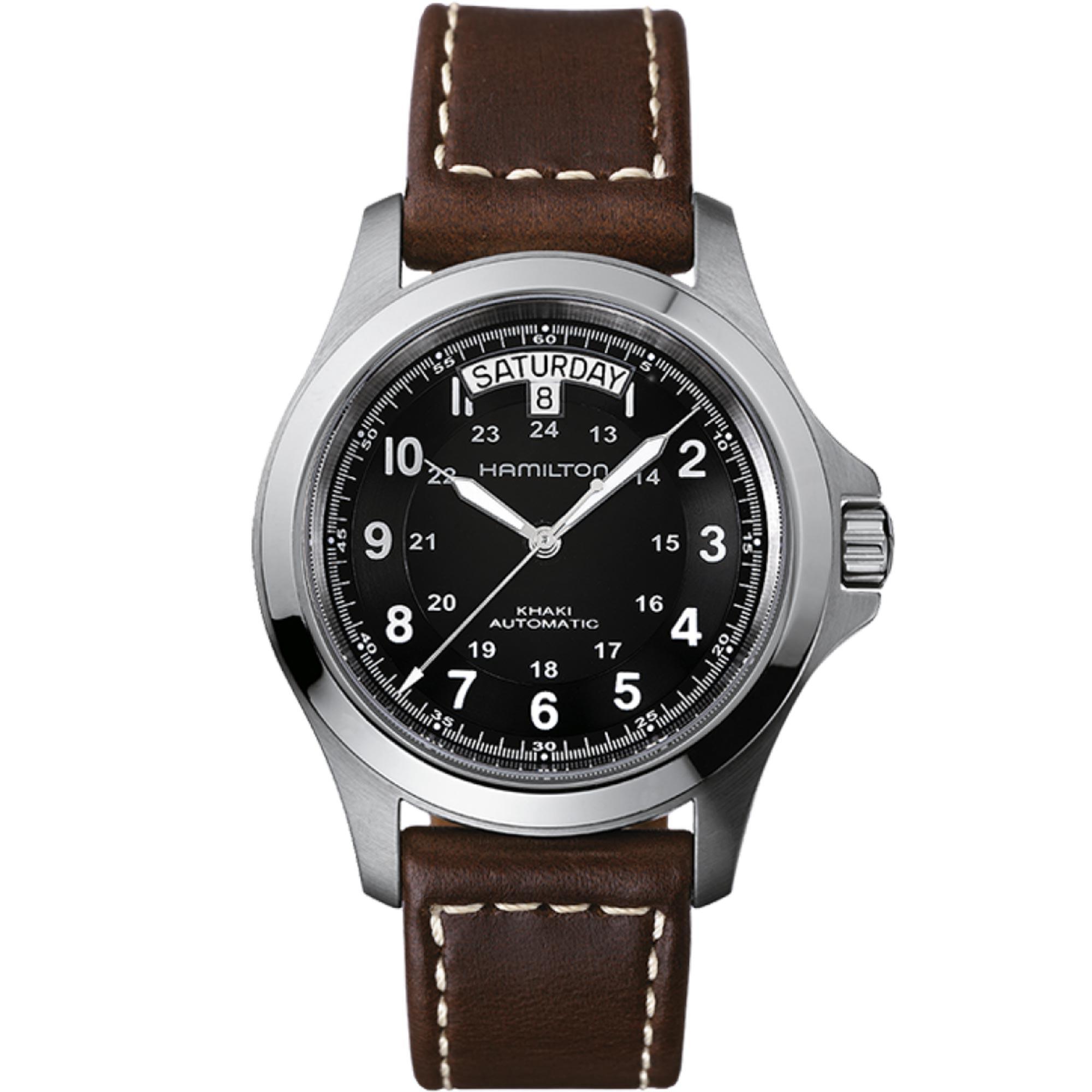 Hamilton Khaki Field Khaki King Automatic Mens Watch H64455533 40mm
