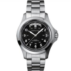 Hamilton Khaki Field Military King Automatic Mens Watch H64455133 40mm