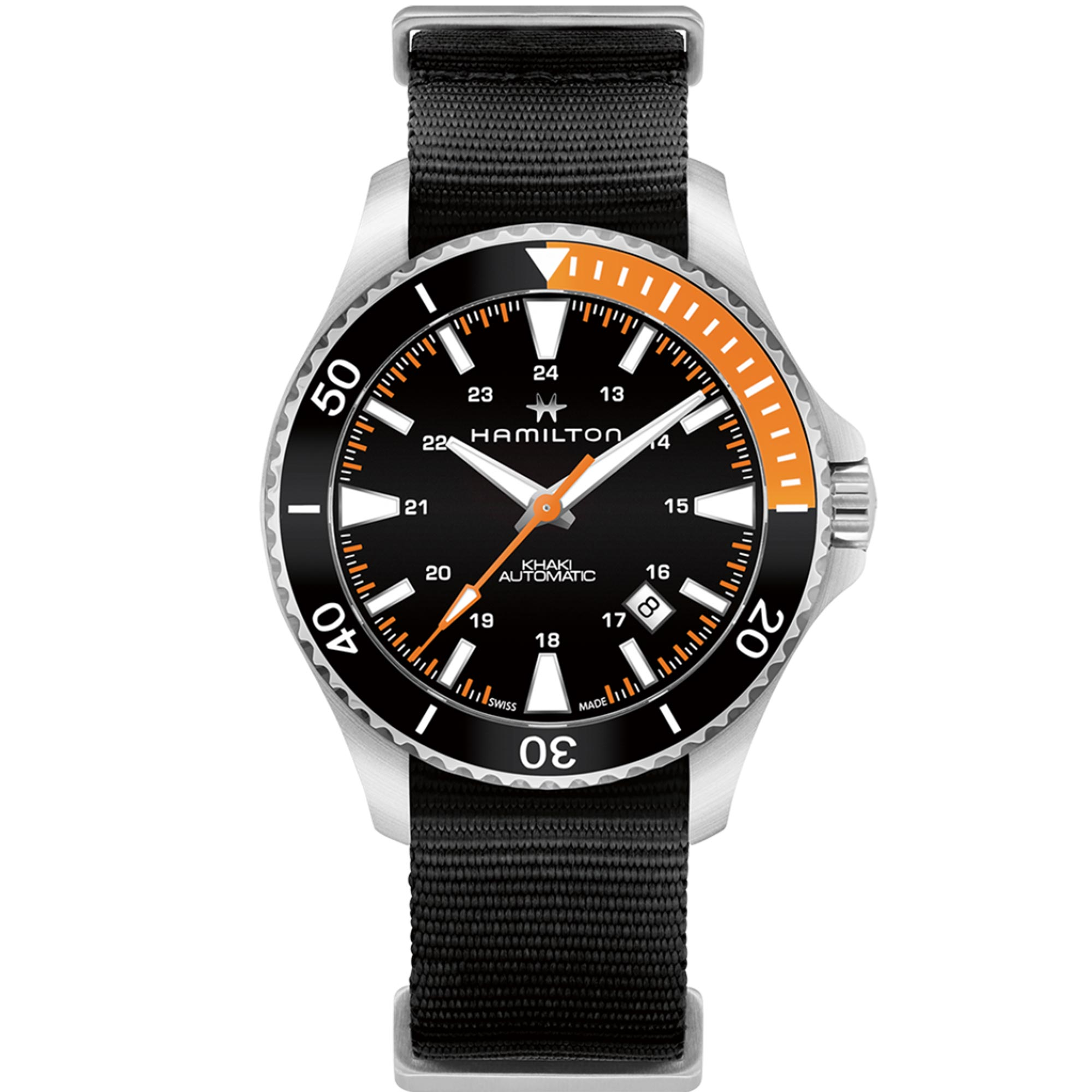 Hamilton Khaki Navy Scuba Automatic Watch 80 Hour Power Reserve H82305931