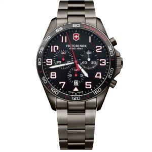 Victorinox FieldForce Sport Chronograph Swiss Made Analogue Quartz Stainless Steel Mens Watch 241890