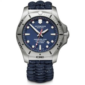 Victorinox Swiss Army I.N.O.X Professional Diver Blue Quartz Men's Watch 241843