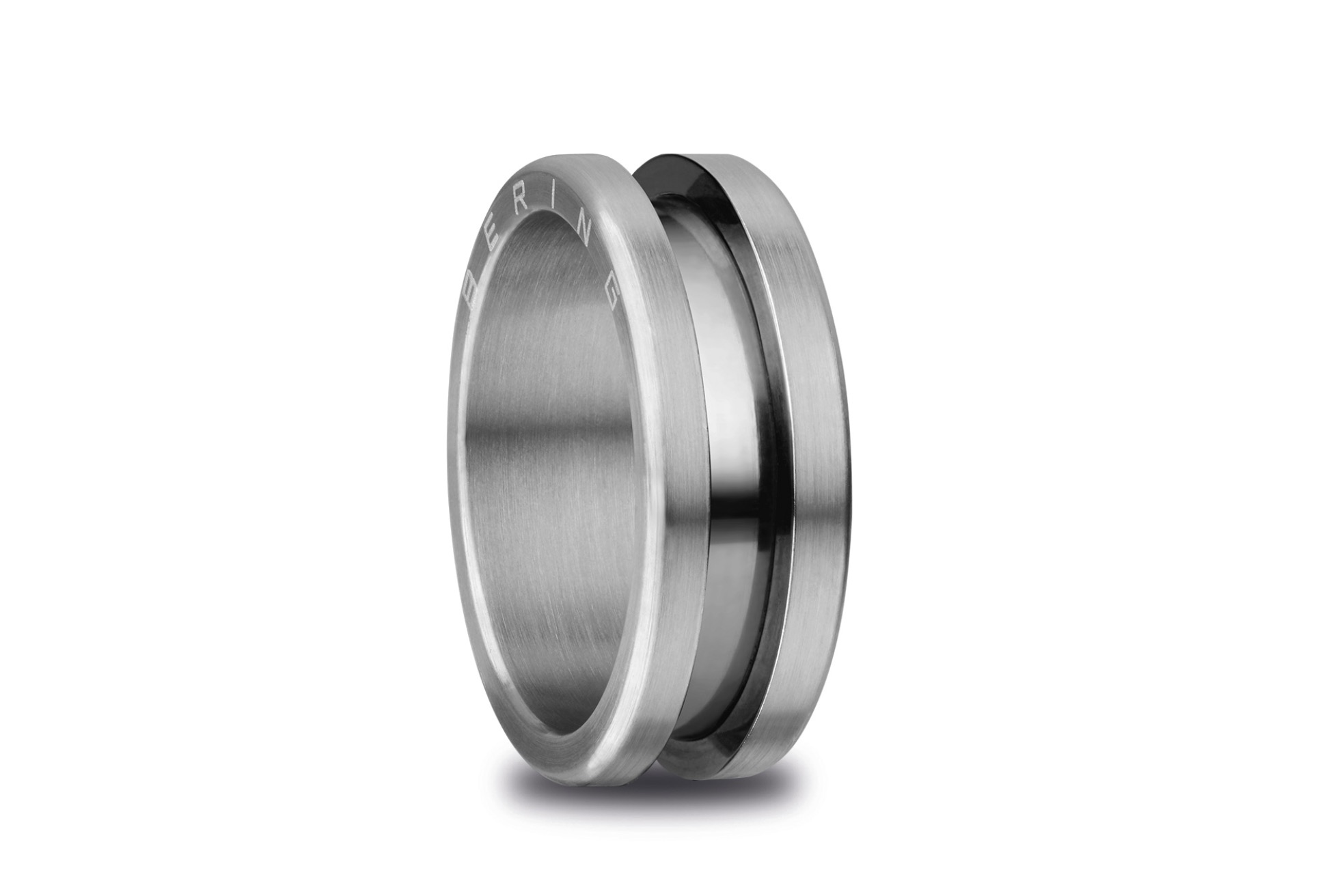Bering Arctic Symphony Brushed Silver Ring 520-11-103