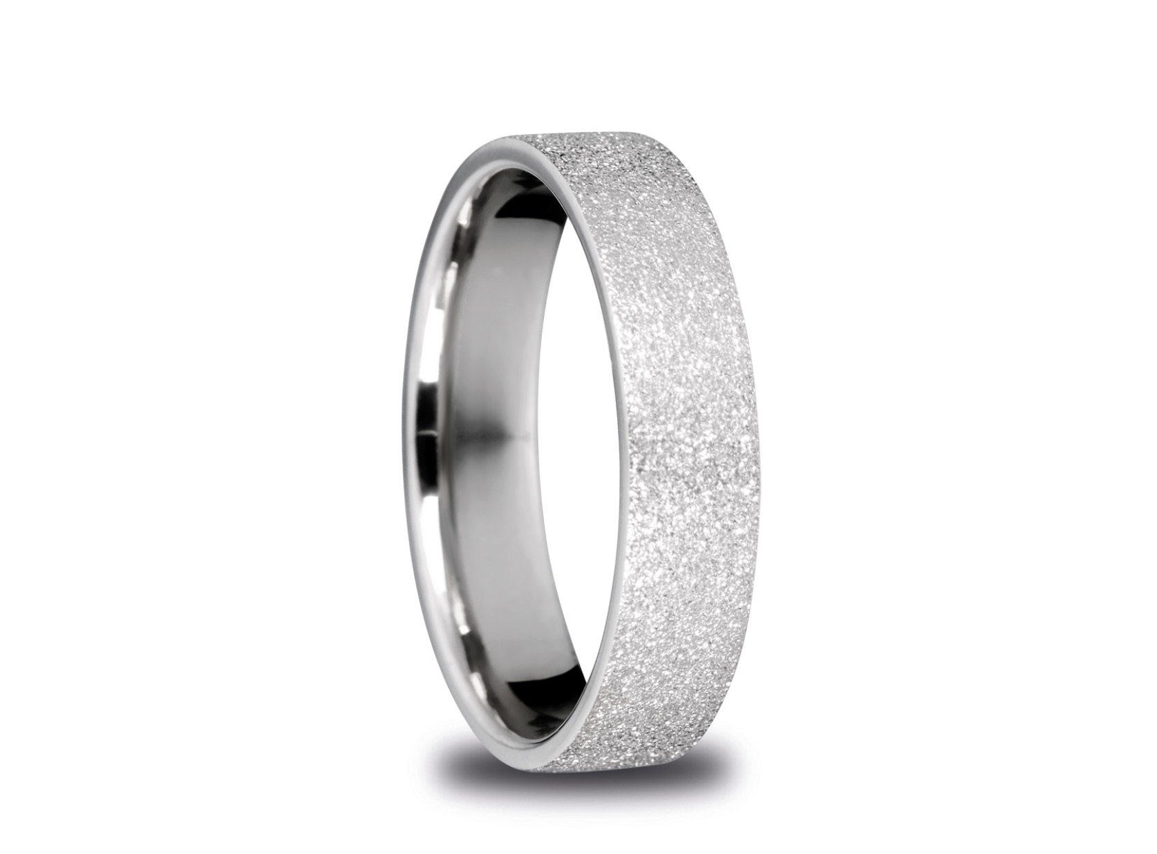 Bering Arctic Symphony Size 63 19.7mm Diameter Sparkling Silver Ring 557-19-82