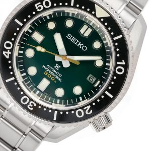 Seiko Prospex Diver's 'Island Green' Limited Edition Automatic Stainless Steel Men's Watch SLA047J1