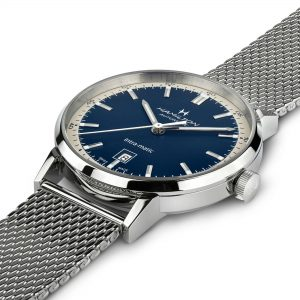 Hamilton American Classic Intra-Matic Automatic Blue Dial Silver Stainless Steel Men's Watch H38425140