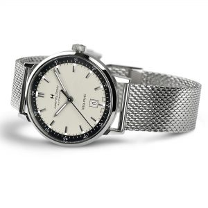 Hamilton American Classic Intra-Matic Automatic White Dial Silver Stainless Steel Men's Watch H38425120
