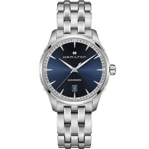 Hamilton Jazzmaster Automatic Blue Dial Silver Stainless Steel Men's Watch H32475140