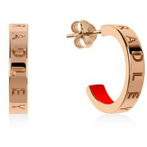 Radley Rose Gold Tone Hoop Earrings RYJ1160S