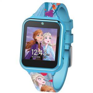 Disney Frozen 2 Quartz Interactive Dial Rubber Strap Girls Watch FZN4587