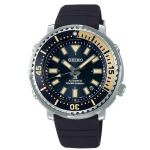 Seiko Prospex Street Series 'Tuna' Safari Edition Automatic Blue Dial Silicone Strap Men's Watch SRPF81K1