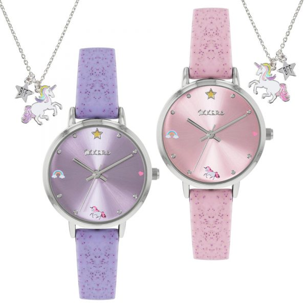 Tikkers Watches and Best Friend Necklaces Girls Gift Set ATK1078
