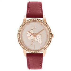 Radley Quartz Rose Gold Dial Pink Leather Strap Ladies Watch RY21184