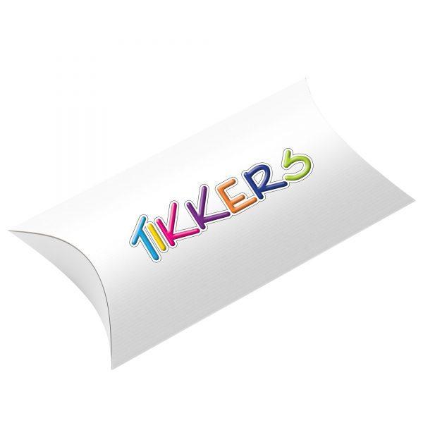 Tikkers Quartz Digital Dial Pink Resin Strap Watch TKS01-0001