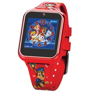 Paw Patrol Quartz Digital Dial Red Rubber Strap Watch PAW4275