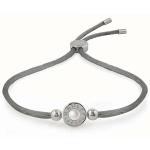Radley Grey Pearlescent Bead Friendship Ladies Bracelet Jewellery RYJ3041