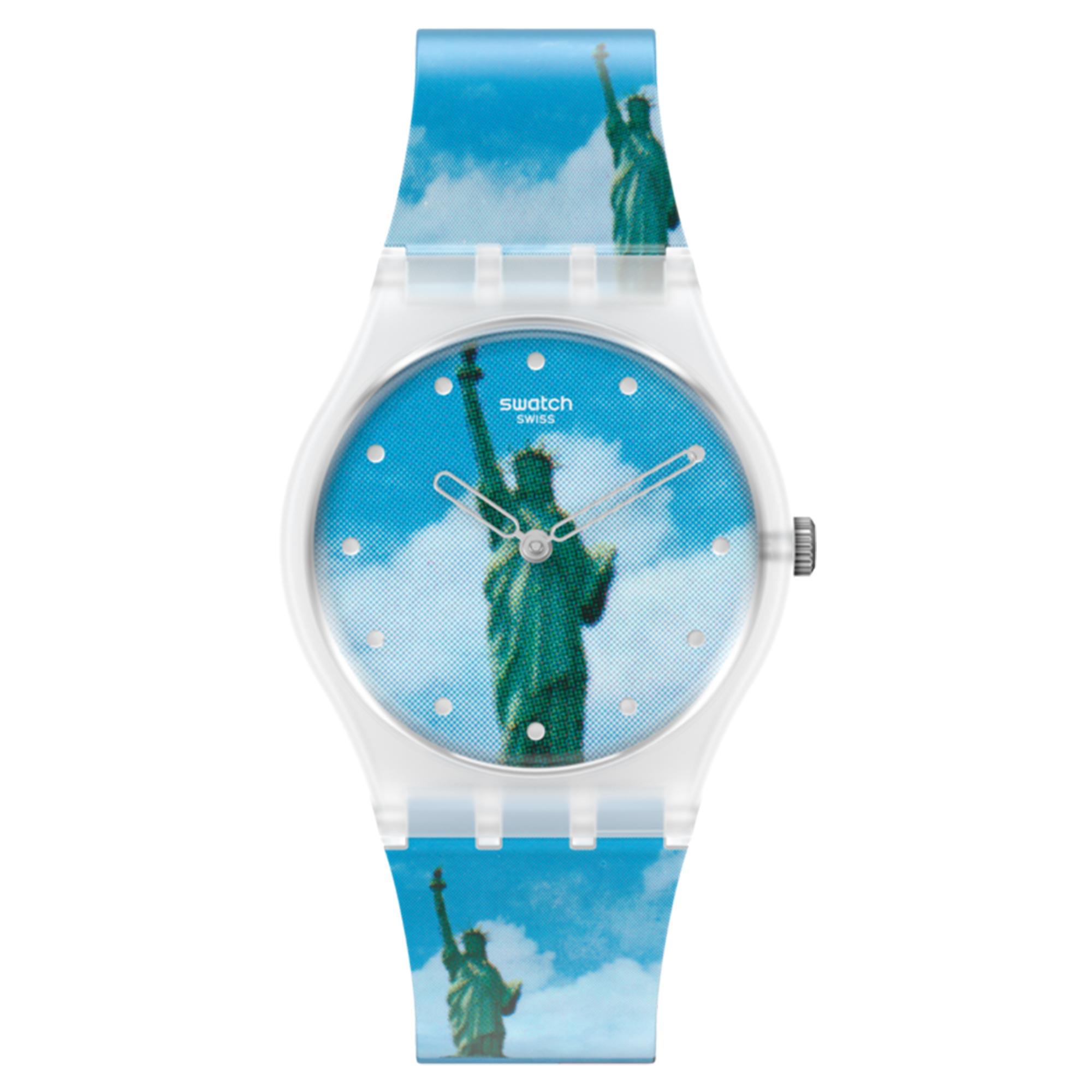 Swatch MoMA Quartz New York By Tadanori Yokoo, The Men's Watch GZ351