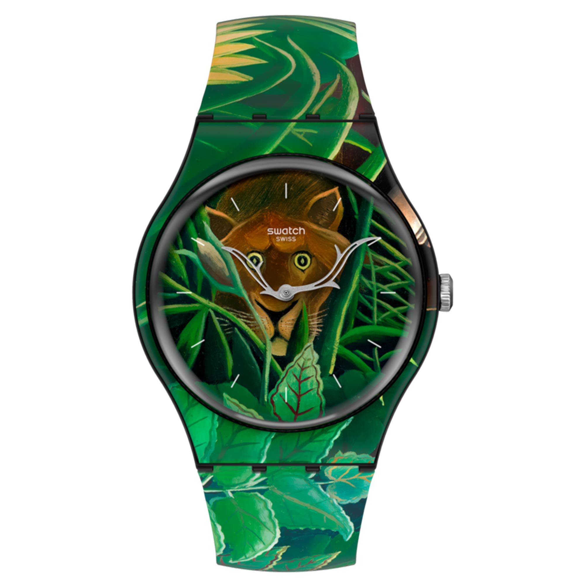 Swatch MoMA Quartz The Dream By Henri Rousseau, The Men's Watch SUOZ333