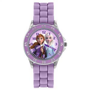 Disney Frozen Quartz Movement Multicolour Dial Silicone Bracelet Girls Watch FZN9505