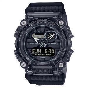 Casio G-Shock Skeleton Series Digital Grey Dial Resin Bracelet Mens Watch GA-900SKE-8AER