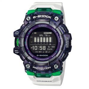 Casio G-Shock Vital Series Digital Black Dial Resin Bracelet Mens Watch GBD-100SM-1A7ER