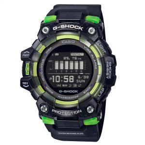 Casio G-Shock Vital Series Digital Black Dial Resin Bracelet Mens Watch GBD-100SM-1ER