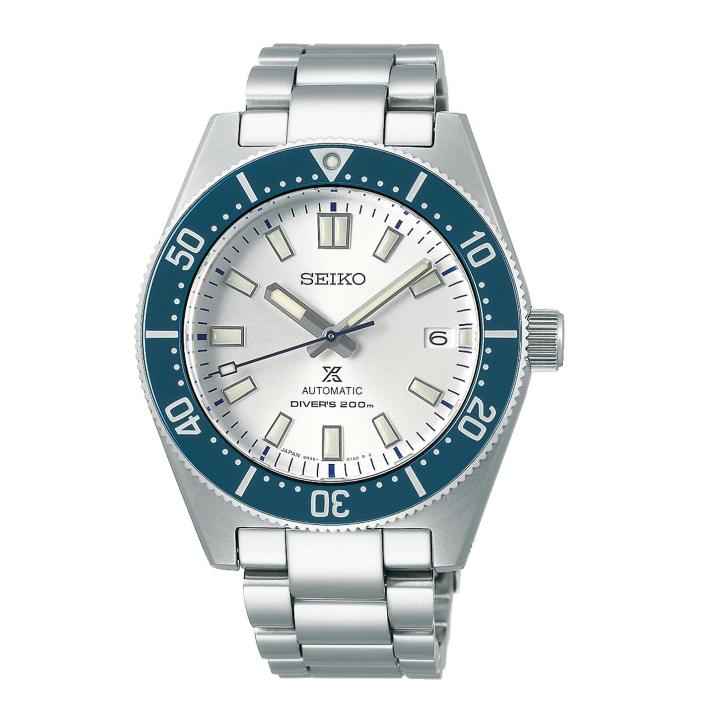 Seiko Prospex 140th Anniversary Limited Edition Automatic Movement White Dial Stainless Steel Bracelet SPB213J1