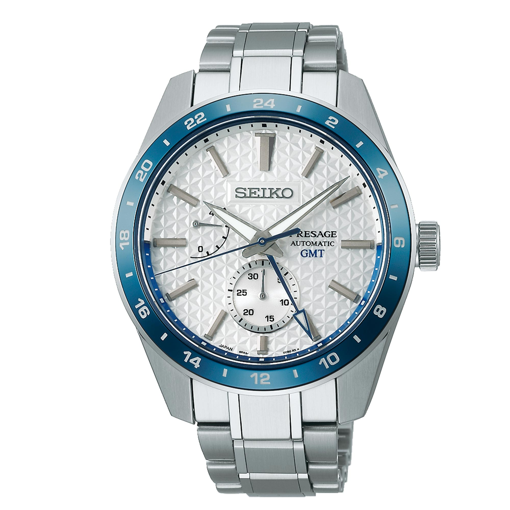 Seiko Presage Sharp Edged Series 140th Anniversary Limited Edition Automatic Movement White Dial Stainless Steel Bracelet SPB223J1