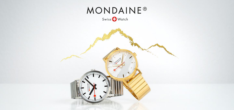 Mondaine Watches Banner