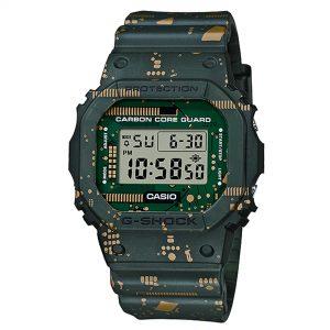 Casio G-Shock Digital Multicolour Dial Resin Bracelet Watch DW-5600CC-3ER
