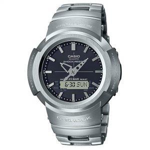 Casio G-Shock Full Metal Digital Black Dial Stainless Steel Bracelet Watch AWM-500D-1AER