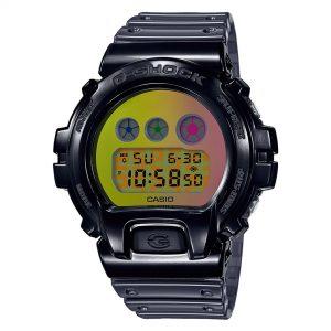Casio G-Shock Digital Multicolour Dial Resin Bracelet Watch DW-6900SP-1ER