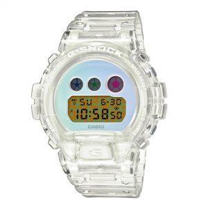 Casio G-Shock Digital Multicolour Dial Resin Bracelet Watch DW-6900SP-7ER