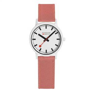 Mondaine Essence Quartz e Dial Pink Strap Ladies Watch MS1.32111.LP