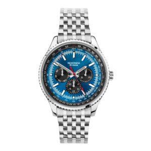 Sekonda Mens Watch Blue DIal Stainless Steel Bracelet 1771