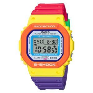 Casio G-Shock Digital Dial Multi Colour Strap DW-5610DN-9ER
