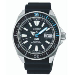 "Seiko Prospex PADI Special Edition ""King Samurai"" Automatic Movement Blue Dial Rubber Bracelet SRPG21K1"