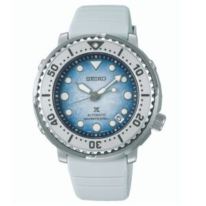 "Seiko Prospex Antarctica Tuna ""Save the Ocean"" Automatic Movement Blue Dial Silicone Bracelet SRPG59K1"