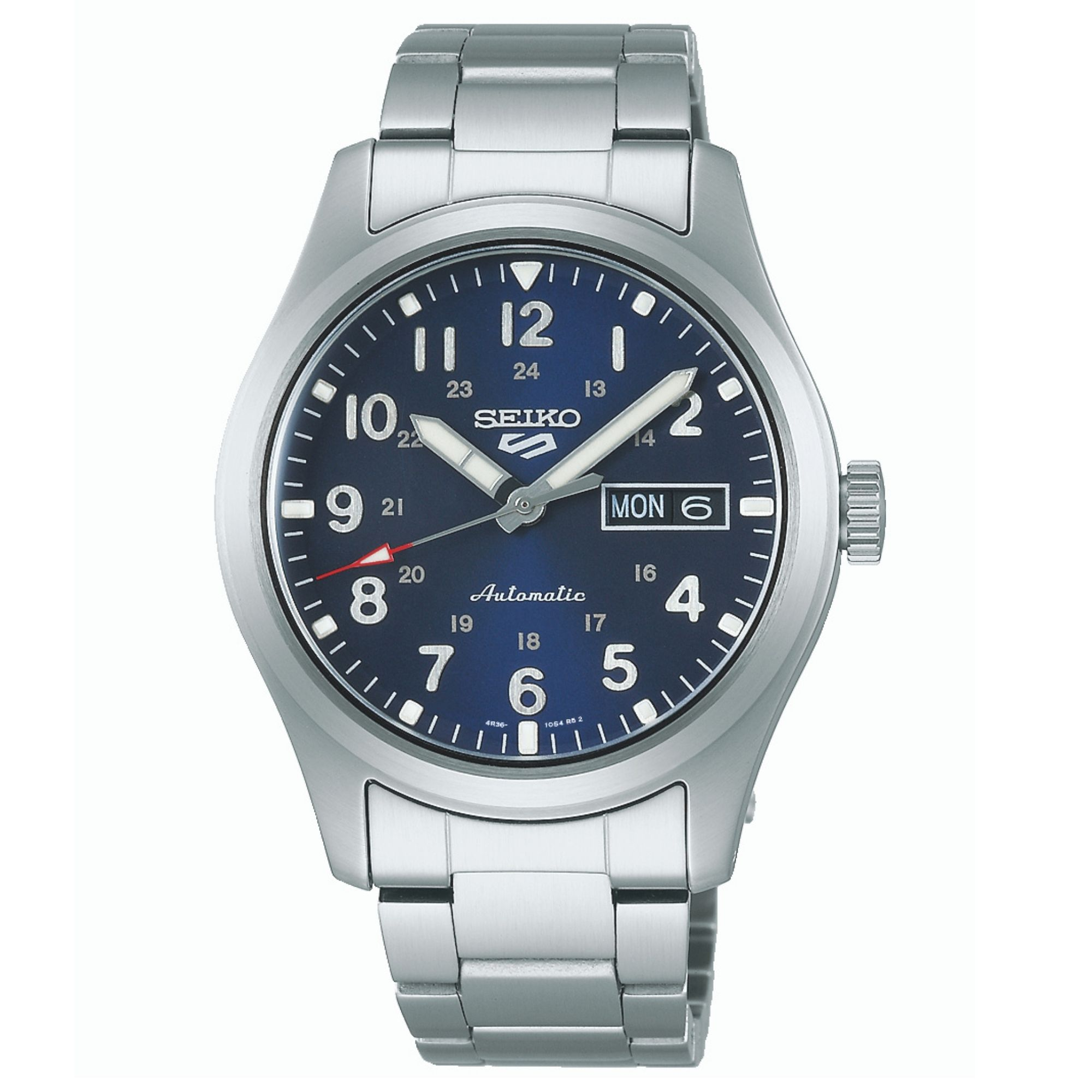 Seiko 5 Sports Automatic Movement Blue Dial Stainless Steel Bracelet Men's Watch SRPG29K1