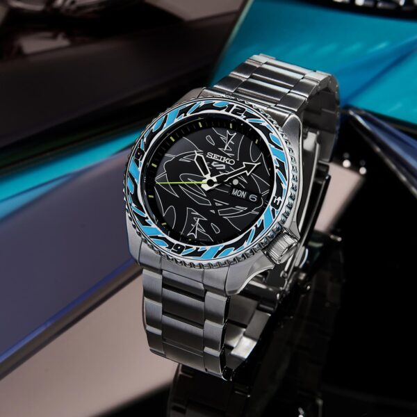 Seiko 5 Sports watch in collabration with Guccimaze designer