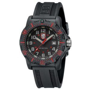 Luminox Black Ops Quartz Black Dial Rubber Strap Men's Watch XL.8895
