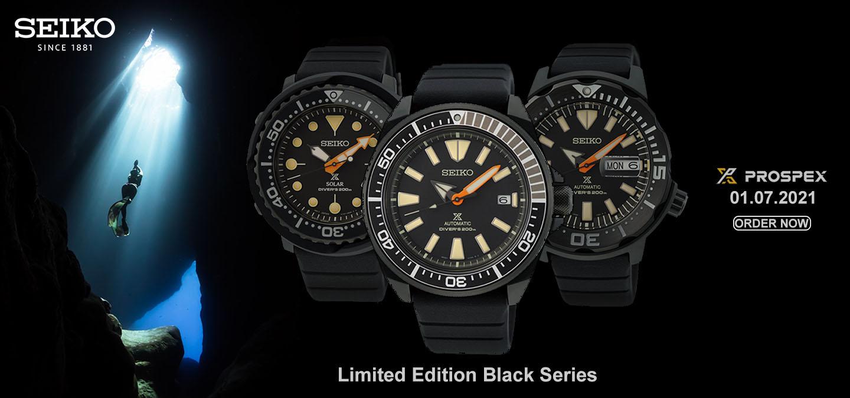 Seiko black series